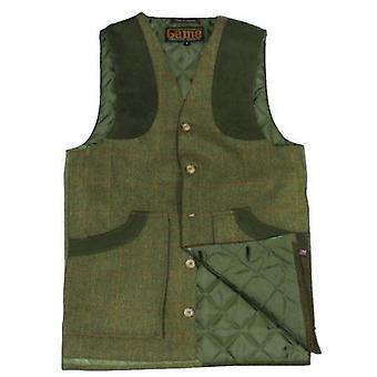 Game Ashford Tweed Waistcoat
