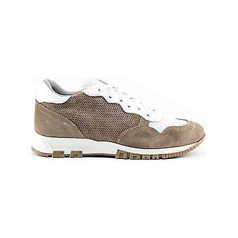 Made in Italia - Schuhe - Sneakers - RAFFAELE_BEIGE - Herren - sienna,white - 44