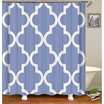 Greyish-blå marokkanske Shower gardin