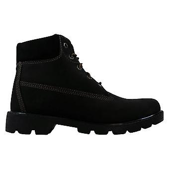 Timberland Classic 6 Inch Boot Black/Nubuck 11903 Grade-School