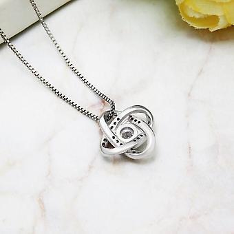 925 Sterling Silber Catcher Halskette