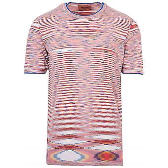 MISSONI Missoni Multi-Colour Knit T-Shirt