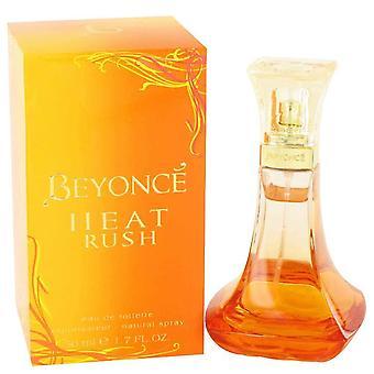 Beyonce Heat Rush Eau De Toilette Spray By Beyonce   480945 50 ml