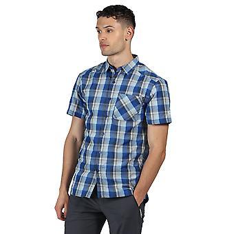 Regatta Herren Kalambo V Polyester kariert Kurzarm Shirt