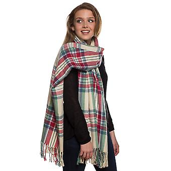 Ladies Carmen Plaid Check Large Square Warm Thermal Winter Blanket Scarf Shawl