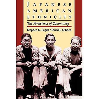 Japansk amerikansk etnisitet: Utholdenhet av fellesskapet