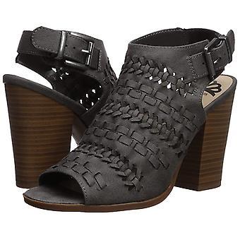 Fergalicious Women's Vagabond Heeled Sandal Denim 6 M US