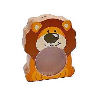 Weizenkorn Piggy Bank Lion Simba