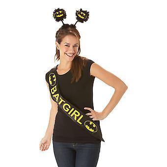 Bristol Novelty Womens/Ladies Batgirl Sash