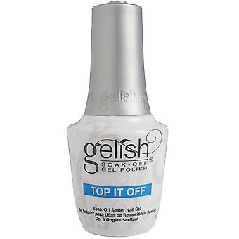 Gelish Soak-Off Nail Polish Top It Off Soak-Off Sealer Gel