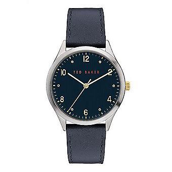 Ted Baker BKPMHF906 Mænd's Manhatt Blue Dial Wristwatch