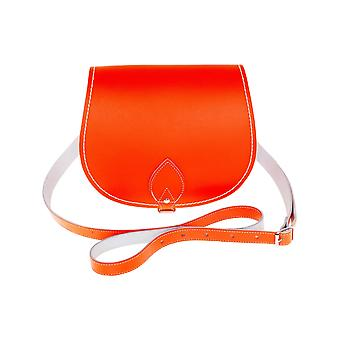 Zatchels Womens/Ladies Handcrafted Leather Saddle Bag (British Made)