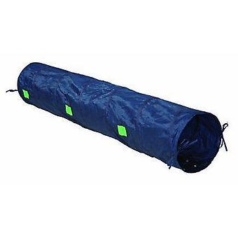 Trixie Agility Tunnel, Nylon/blå, ø 40 cm, 2 m (hundar, leksaker & Sport, Agility)