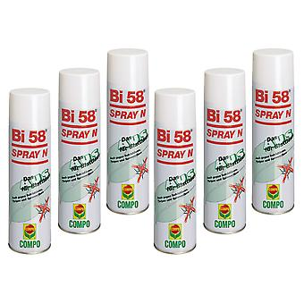 Sparset: 6 x COMPO Bi 58® Spray N, 400 ml