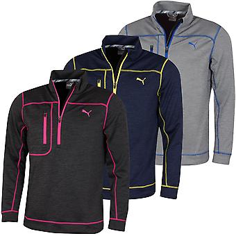 Puma Golf Mens Go Low 1/4 Zip DryCell Wicking Chest Pocket Sweater