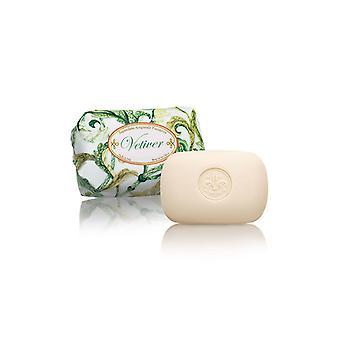 Saponificio Artigianale Fiorentino Handmade Soap - Sweet Grass - Lovingly Wrappeds Paper 200g