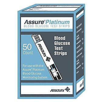 Assure platinum blood glucose test strips, 50 ea
