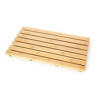 Rectangle en bois canard naturel bord 37 x 60 cm
