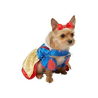 Rubie & apos;s Snow Dog Fancy Dress Disney Princess Pet Puppy Animal Costume Medium