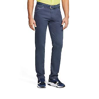 Meyer Cotton Chicago Trouser Blue