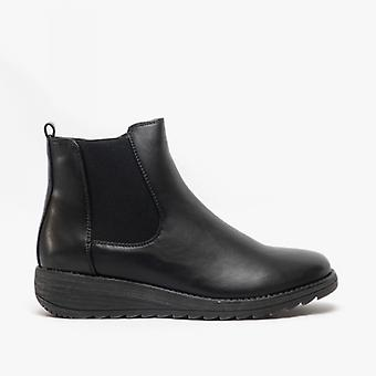 Cipriata Bernadetta Ladies Inside Zip Ankle Boot Black