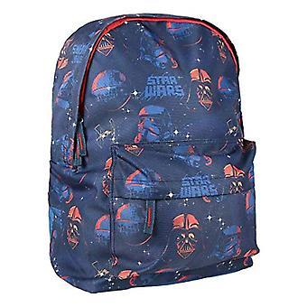 Artesania Cerda Mochila Escolar Instituto Star Wars Backpack - 41 cm - Blue (Azul)