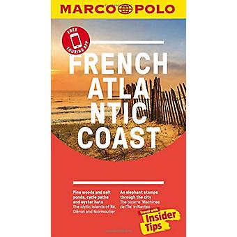 French Atlantic Coast Marco Polo Pocket Travel Guide - with pull out