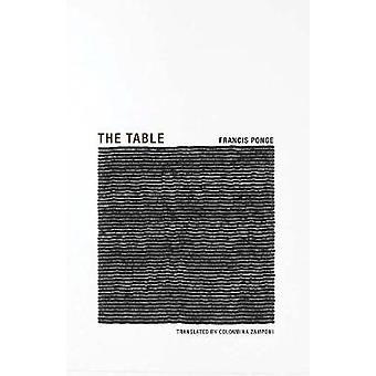 Francis Ponge  the Table by Francis Ponge