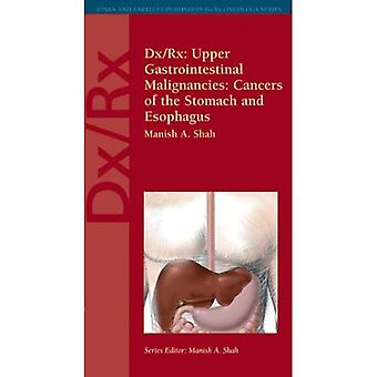 Dx/Rx: Upper Gastrointestinal Malignancies - Cancers of the Stomach and Esophagus (Jones and Bartlett Publishers DX/RX Oncology)