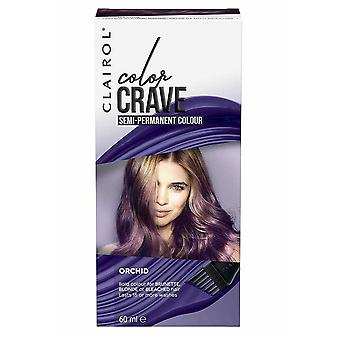 Clairol Color Crave Semi Permanent Hair Colour 15+ Washes 60ml Orchid
