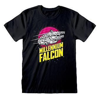 Star Wars Millennium Falcon Space Männer's T-Shirt | Offizielles Merchandise