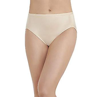 Vanity Fair Women's Body Caress Hi Cut #13137, Damask Neutral, 8