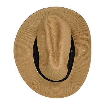SUNDAY Afternoons Womens Fedora Style w/Hatband Camel Beige Hat