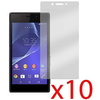 10x Anti-Glare Matte Screen Protector Cover for Sony Xperia M2