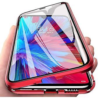 Xiaomi Mi 10 shell com protetor de tela Vermelho