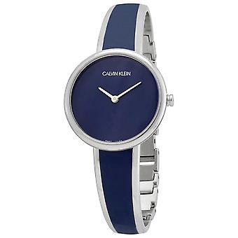 Calvin Klein K4E2N11N Seduce Quartz Blue Dial Ladies Watch