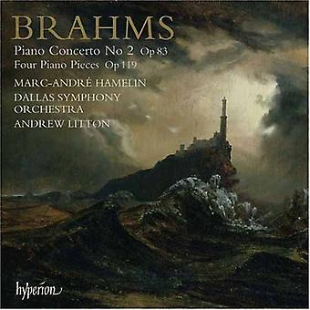 J. Brahms - Brahms: Piano Concerto No. 2; Four Piano Pieces, Op. 119 [CD] USA import