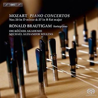W.a. Mozart - Mozart: Piano Concertos No. 20 in D Minor & No. 27 in B Flat Major [SACD] USA import