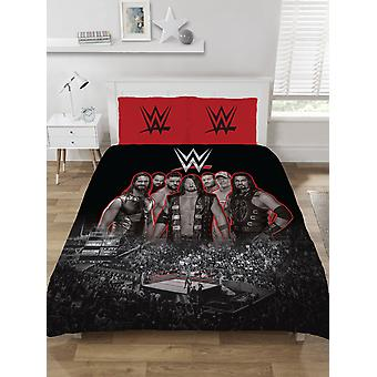 WWE Worstelen Ring Dubbele Dekbed Cover Set