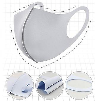 Washable Earloop Mask 3d Ice Silk Cotton - Washable Anti Dust Filter Face Mask Care Respirator