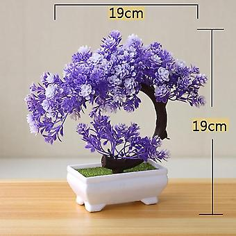Simulation Pine Tree Potted Plant - Artificial Bonsai Simulation Potted Plant