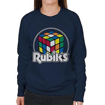 Rubik's Circle Logo Women's Sweatshirt