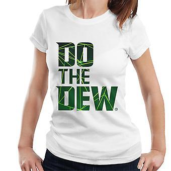 Berg dauw doen de dauw Laser vrouwen ' s T-shirt