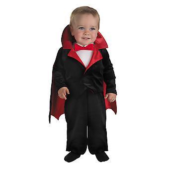 L'Vampire vampiro Drácula cuenta Halloween niño niños traje 12M - 18M