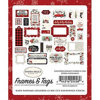 Carta Bella Christmas Market Frames & Tags