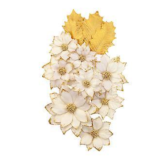 Prima markkinointi joulu maassa kukat valkoinen joulu
