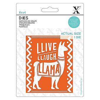 Xcut يموت Llive Llaugh لاما