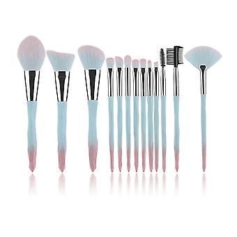 Crystal Makeup Brushes Eye Shadow Eyebrow Professional Tools