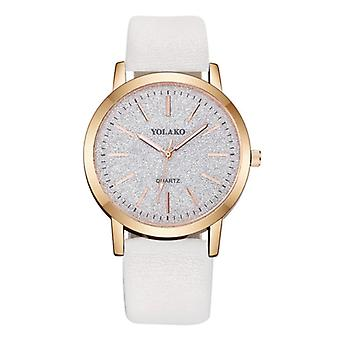 Yolako Quartz Watch Ladies - Anologue Luxury Watch for Women White