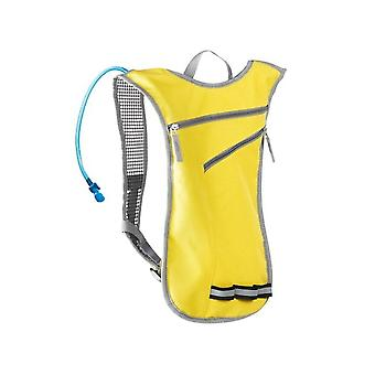 Backpack with Water Container - Yellow